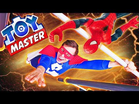 Игры для мальчиков - Команда Мстителей теперь Антигерои? – Супергерои в видео шоу Той Мастер.