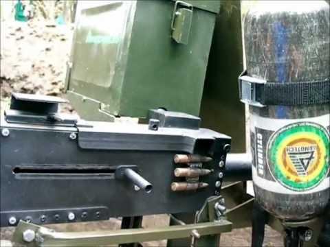 Пейнтбол Краснодар Улучшенный пейнтбольный пулемет