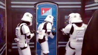 STAR WARS  Porta-Potty Prank...(Oh HELL NO!)