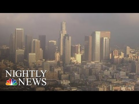 New App Will Warn Los Angeles Residents Of Earthquakes | NBC Nightly News