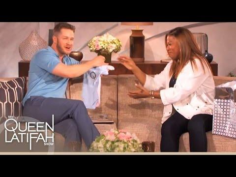 Josh Dallas Gets A Baby Gift