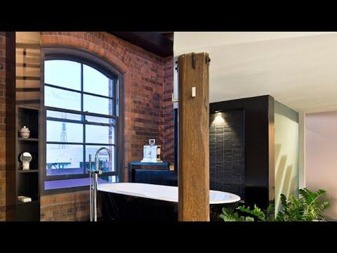 Industrial Style Bathrooms #6 [Interior Design]