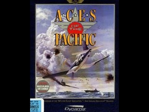 Aces of the Pacific 1992 by Dynamic: Dogfight Ki-84s vs. P-51 Mustangs