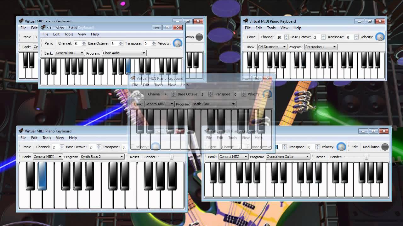 Animusic - Future Retro - Multiple Virtual Piano - YouTube