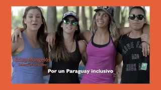 Llevamos la bandera y espíritu en alto #DaleParaguay