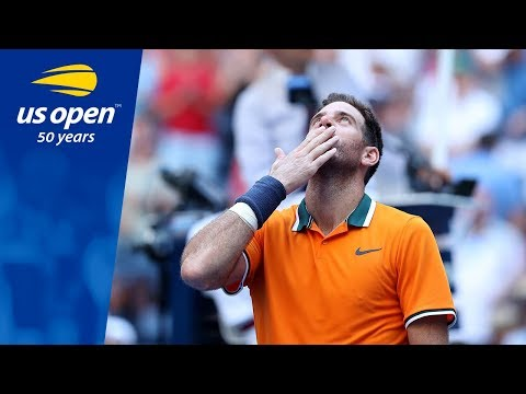Juan Martin del Potro Reaches Second Straight US Open Semifinal