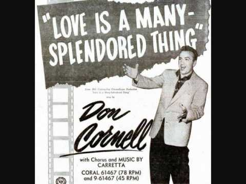 Don Cornell - Love Is a Many-Splendored Thing (1955)
