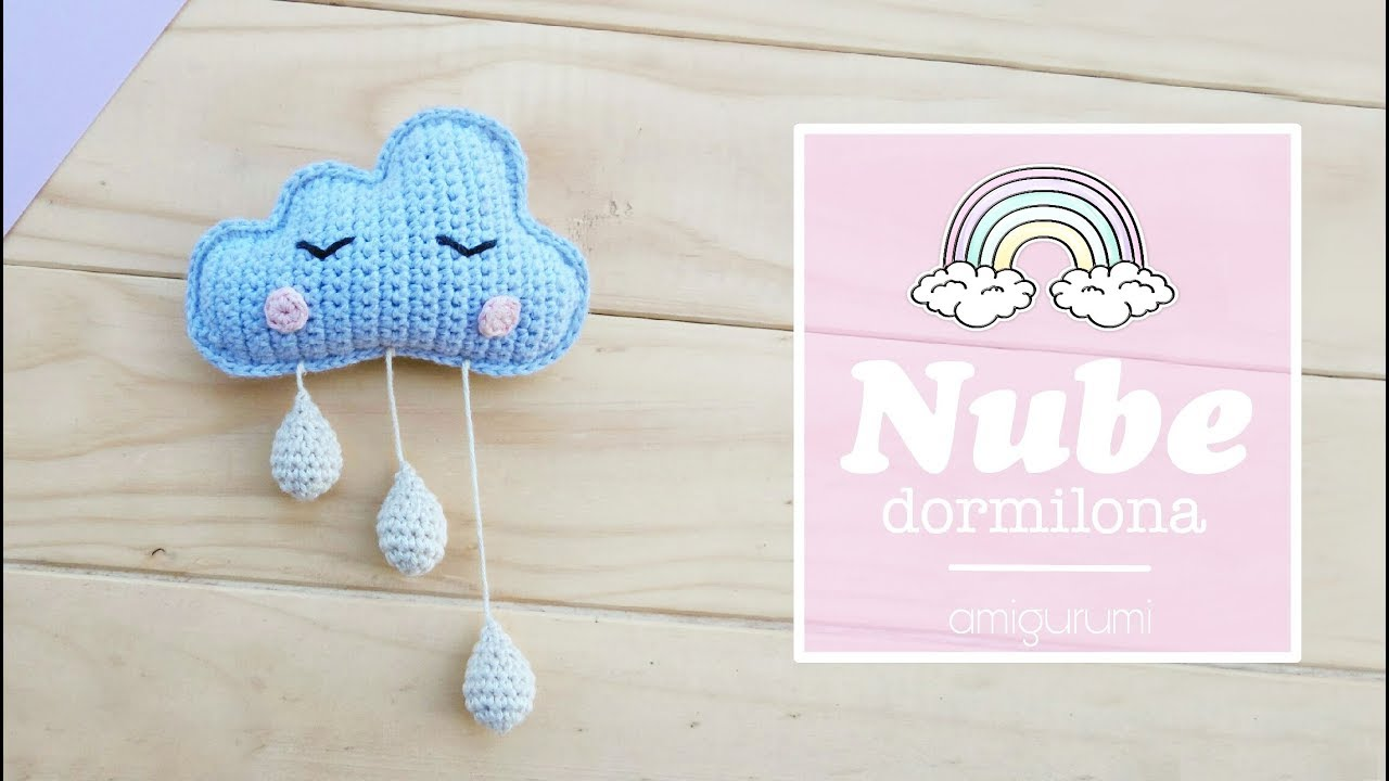 Nube dormilona amigurumi (tutorial) - YouTube