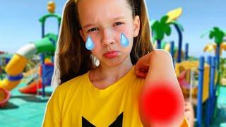 Emi and Niki Pretend Play Boo Boo Story for Kids