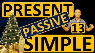 13. Английский: PRESENT SIMPLE PASSIVE / НАСТОЯЩЕЕ ПРОСТОЕ ПАССИВНЫЙ ЗАЛОГ (Max Heart)