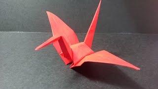 摺紙 摺紙鶴  Origami Crane