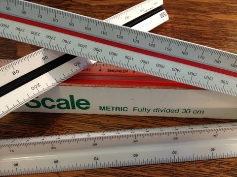 "How to use a ""Metric"" Engineer's Scale"