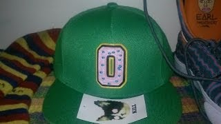 Odd Future Green Collegiate Hat Unboxing