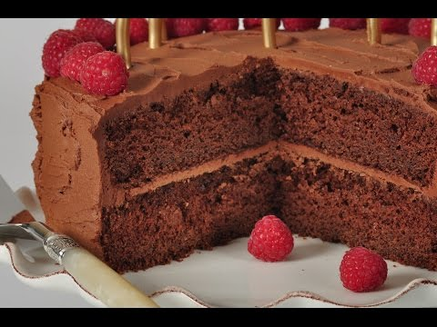 Chocolate Butter Cake Recipe Demonstration - Joyofbaking.com