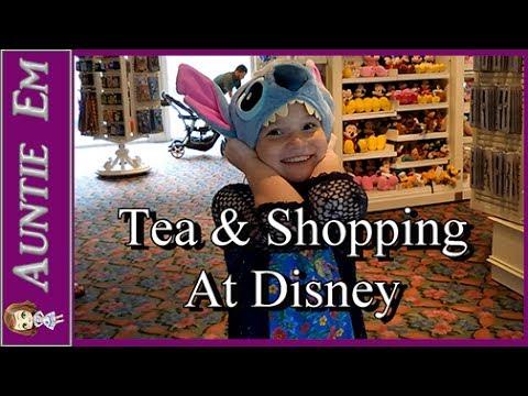 Tea & Shopping at Disney Resorts | Vlog 14