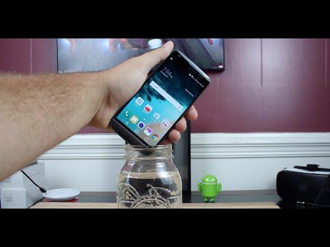 WaterProof LG G5! - YouTube