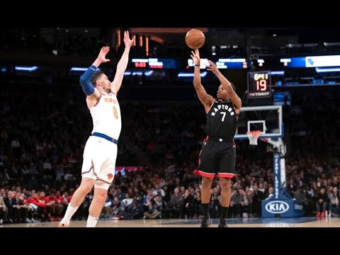 NBA Full Game Recap: Kyle Lowry Scores 22 Points in Win | Raptors vs. Knicks | February 9, 2019