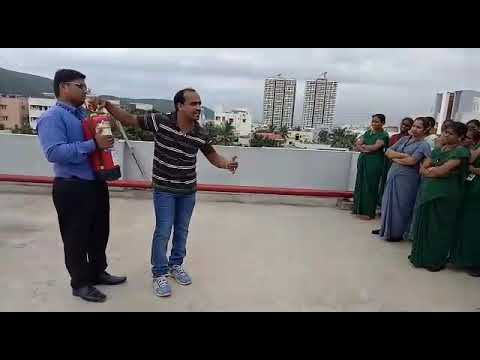 Queens NRI hospital external disaster mock drill conducted By KIRAN Kumar AO