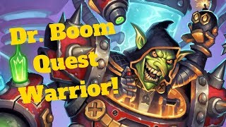 Dr. Ragnaros!? Boom Quest Warrior! [Hearthstone Game of the Day]