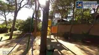 Camping Street View Video Bungalodge Sant Pol
