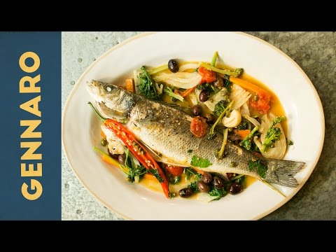 Poached Seabass | Gennaro Contaldo