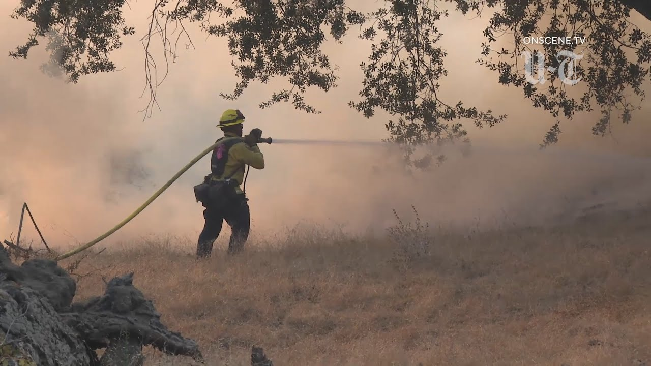 Bobcat Fire: Blaze Grows To Over 36K Acres; Containment Remains ...