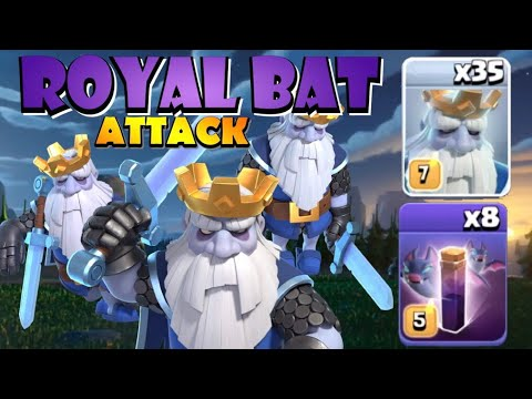TH12 ROYAL BAT Attack Strategy Is DOMINATING CLASH OF CLANS! Best TH12 Attack Strategies