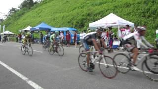 2014/06/29 全日本自転車競技大会ロード・レース 八幡平 補給地点