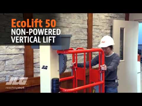 JLG EcoLift 50 & EcoLift 70 Non-Powered Vertical Lifts