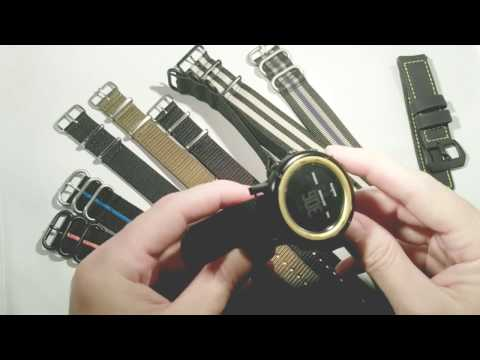 NATO G10 vs ZULU Straps Explained. Plus how to install 5 ring watch band.
