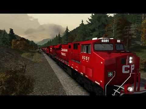 Train Simulator 2015 CP rail episode1 part1