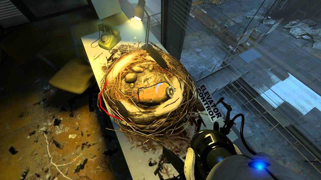 glados portal 2 potato - photo #15