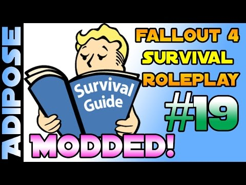Fallout 4 Survival Roleplay - Modded!! #19 Can you murder a machine?