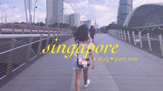 wow, Singapore! 🇸🇬🌆 (a travel vlog) ☾ 1 of 2  // niña carmel