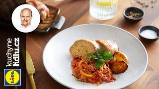 Sekaná ve slanině s lečem - Roman Paulus - RECEPTY KUCHYNĚ LIDLU