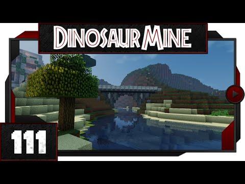 Minecraft - Dinosaur Mine - #111 - Bridge to a new Enclosure