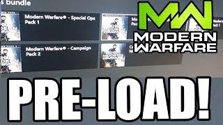 Download lagu DOWNLOAD MODERN WARFARE RIGHT NOW ~ Modern Warfare Pre-Load/Download Xbox One NOW AVAILABLE!