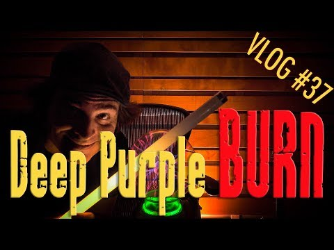 DEEP PURPLE BURN Tutorial Lezione Chitarra Guitar Lesson - VLOG #37 Professione Chitarrista