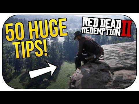 50 HUGE Helpful Tips for Red Dead Redemption 2!