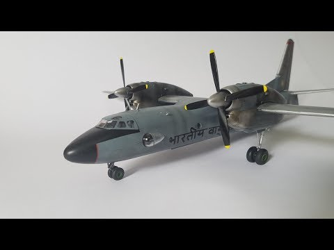 A Difficult Build Part-2 (Amodel 1/72 AN-32)