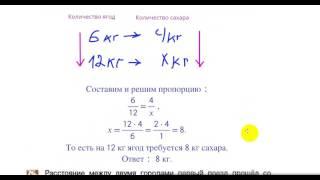 Математика 6 кл  Задачи на прямую и обратную пропорциональность  Шеховцов В А  15 11 16