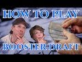 HOW TO PLAY BOOSTER DRAFT Magic the Gathering deutsch traderonlinevideo MTG Trader