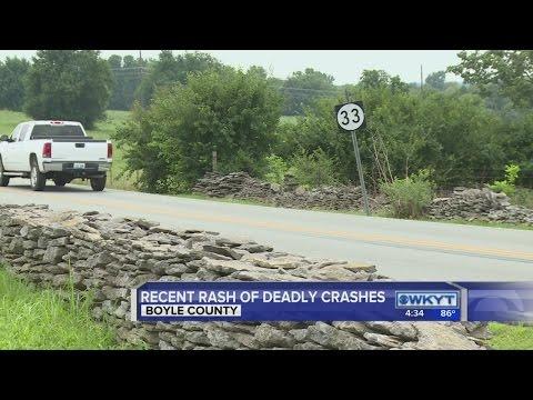 Boyle County crashes