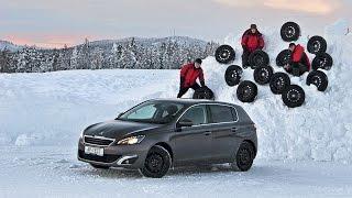 видео Шипованные модели шин Bridgestone: какая лучше?