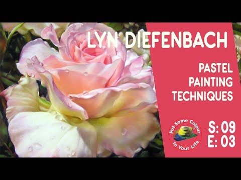 Fine Art tips on How to Create Perfect Pastel Work with Lyn Diefenbach on Colour in Your Life