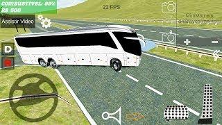 Elite Bus Simulator - White Bus 6x2 - Android Gameplay FHD