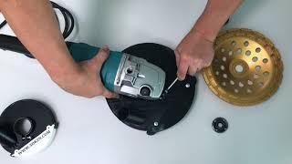 Кожух пылеотводящий (подходит к УШМ Makita 230mm) AVA 230M-1