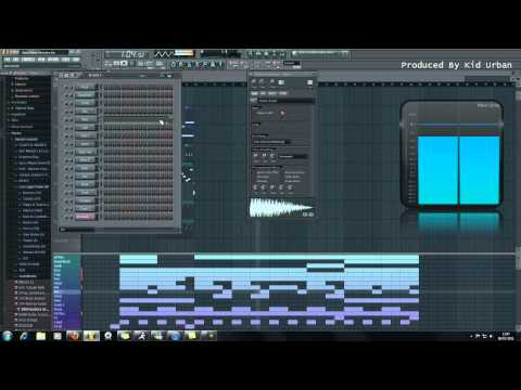 Wiz Khalifa Ft. Big Sean - Gang Bang (FL Studio 10 Remake) 720p HD
