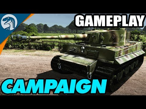 GERMAN DEFENSE OF NORMANDY | Steel Division: Normandy 44 | Campaign Gameplay & Features