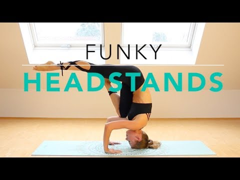 Advanced Headstands: Funky Headstand Variations